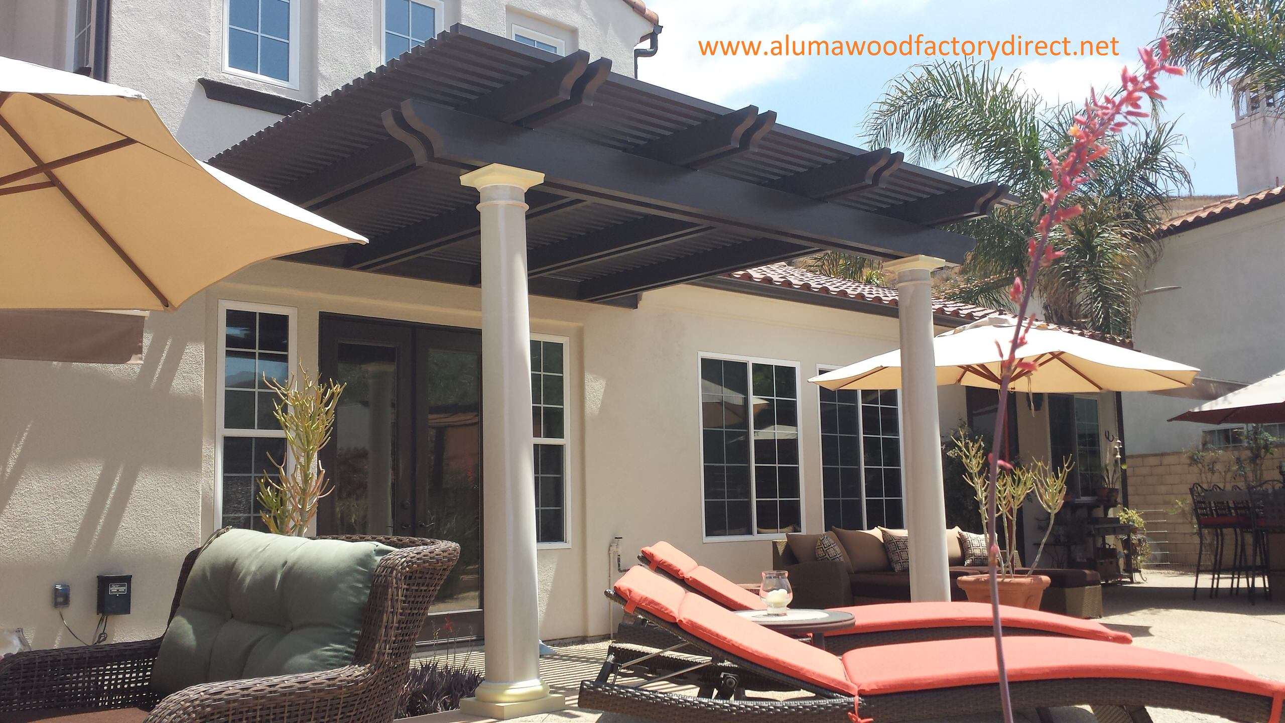 alumawood patio covers houzz