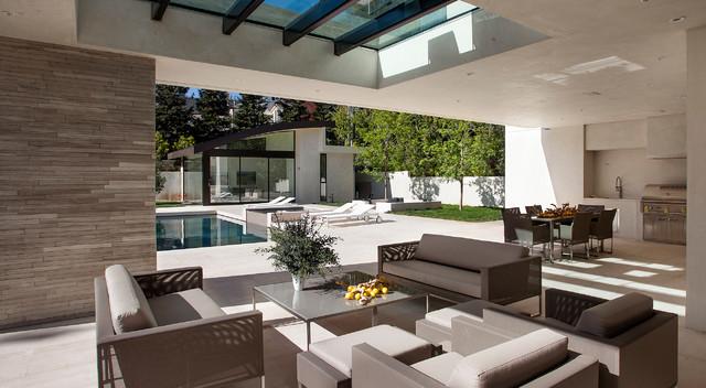 San Vicente Contemporary Patio Los Angeles By