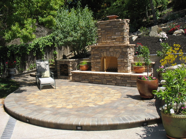 Tuscan Inspired Backyard Patio Pictures : Sanders Ranch Tuscan Retreat  Traditional  Patio  san francisco