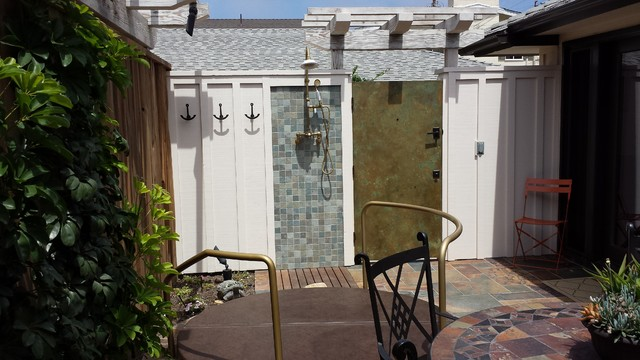 Santa Barbara Beach rental beach-style-patio
