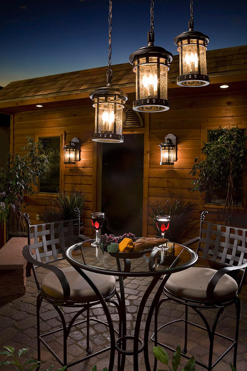 Vintage Backyard Lights : Santa Barbara Outdoor Lighting Lanterns ? More Info