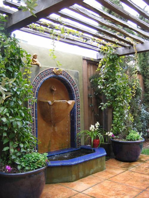 Kathleen Shaeffer Design mediterranean patio