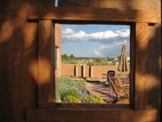 Santa Fe, NM Residence mediterranean-patio