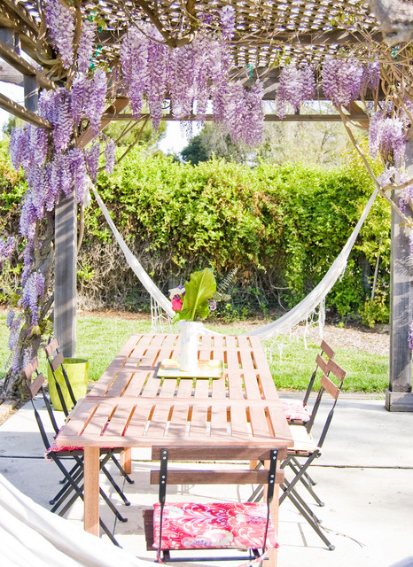Santa Ynez farmhouse-patio