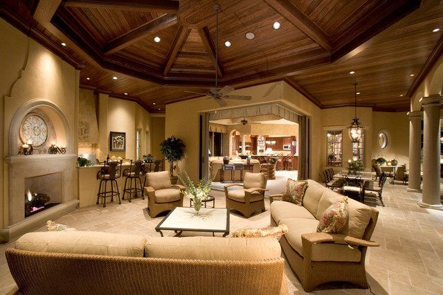 sater groups cordillera custom home plan mediterranean patio - Custom Rooms