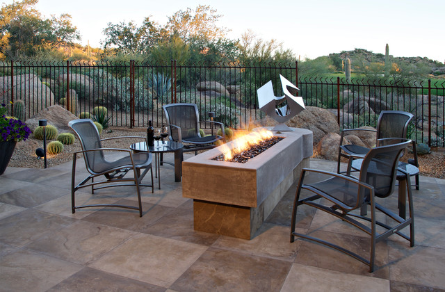 Scottsdale Modern Remodel Modern Patio Phoenix by