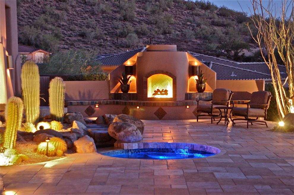 Scottsdale Southwest Living - Southwestern - Patio ...