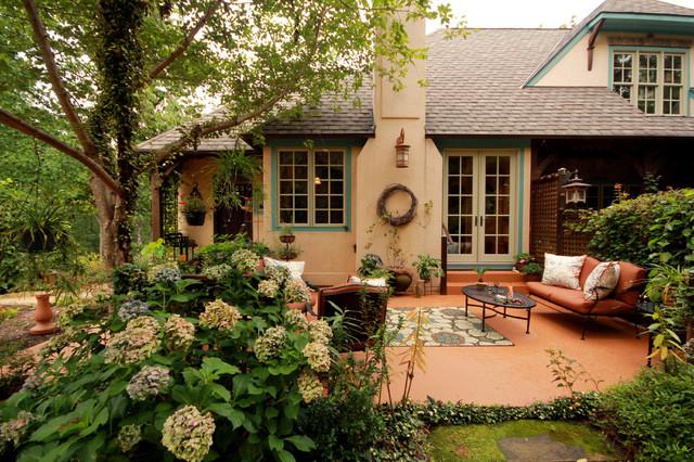 Scottsville Tuscan Cottage Mediterranean Patio