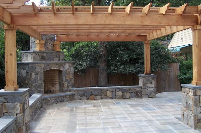 Screened Porches/Pergolas/Pavilions/Gazebos Traditional Patio