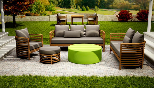 Seasonal living outdoor furniture contemporary patio for Outdoor furniture miami