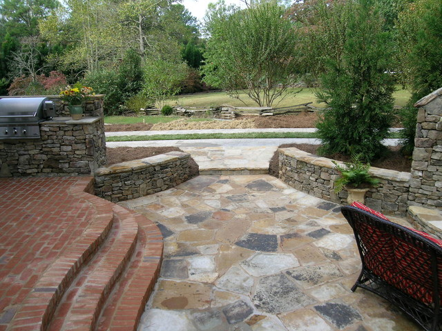 Anonymus traditional-patio