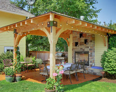 Seattle Exterior Renovations By Fine Construction traditional-patio