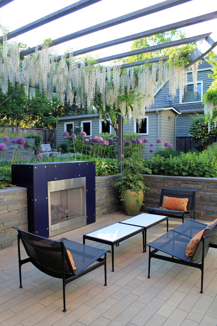 Seattle urban garden contemporary patio seattle by for Houzz landscape architects