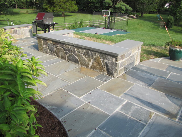 Seatwall Traditional Patio Dc Metro By Hughes