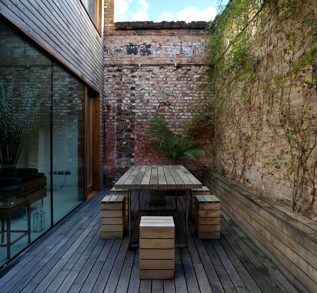 Secret House contemporary-patio