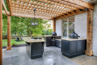 Select Outdoor Kitchens Custom Island - Traditional - Patio - other metro - by Select Outdoor ...