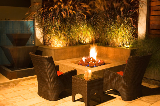 Serene Backyard Modern Patio San Diego By Hamilton