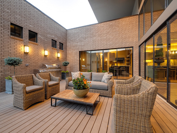 Serenity - The Woodward Project modern-patio