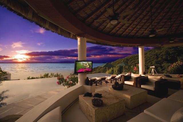 Storm Outdoor Television patio