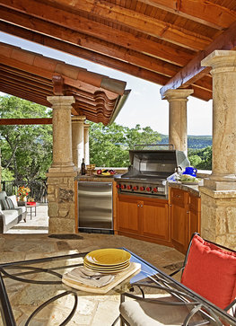 Country house checklist outdoor kitchens upstater for Country outdoor kitchen