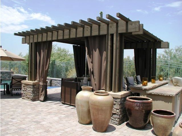 Shade for the hot & cold seasons! mediterranean-patio - Shade For The Hot & Cold Seasons! - Mediterranean - Patio