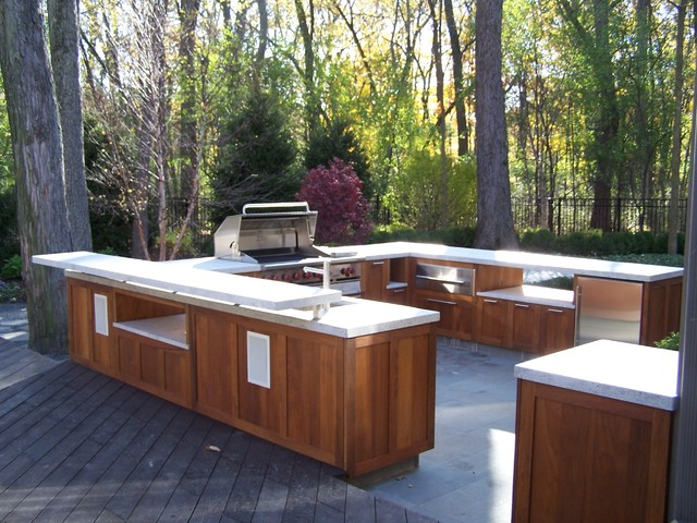 ... - Traditional - Patio - philadelphia - by Paradise Outdoor Kitchens