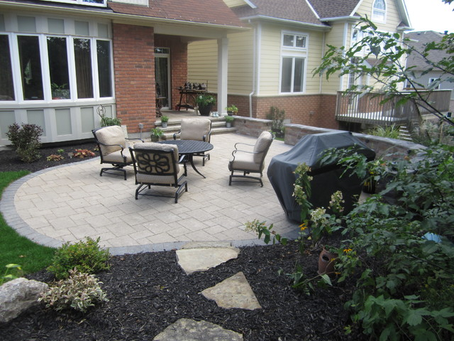 Sharpley traditional-patio