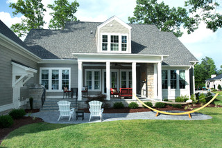 Shook Hill - Traditional - Patio - raleigh - by Tab Premium Built Homes