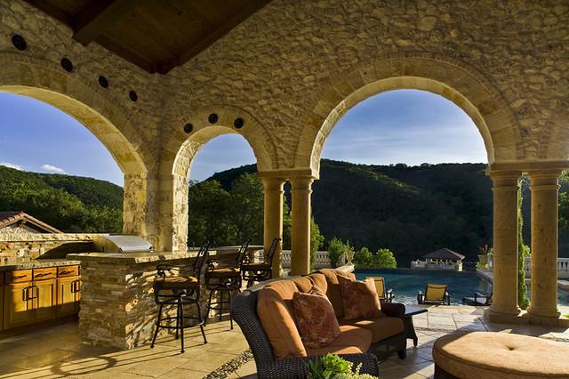 Shore Vista Residence Outdoor Living traditional-patio