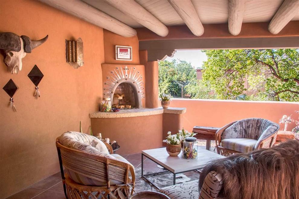 Show House Santa Fe Outdoor Portal, Patio Furniture Albuquerque
