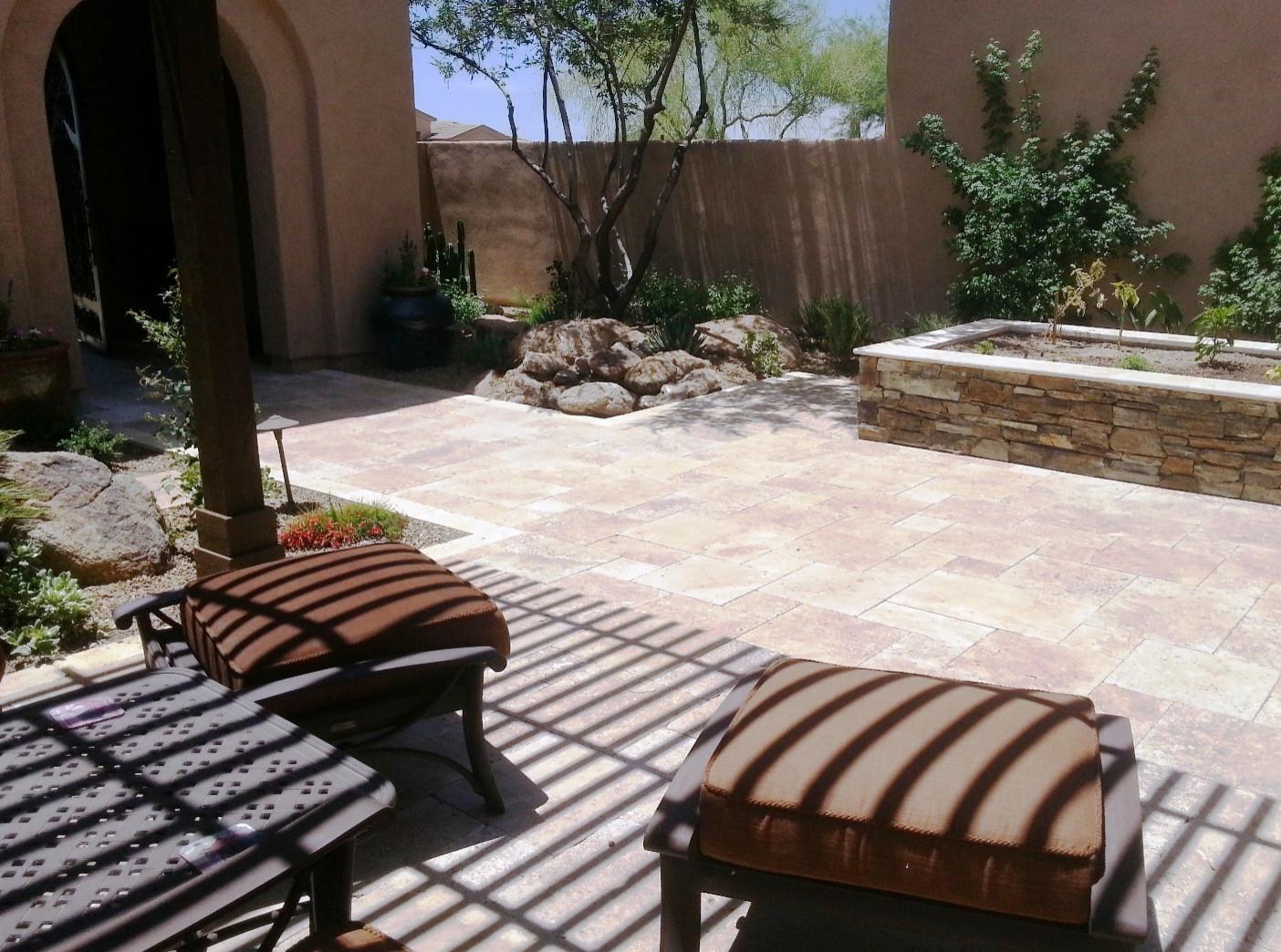 Sierra Norte--Entry Courtyard
