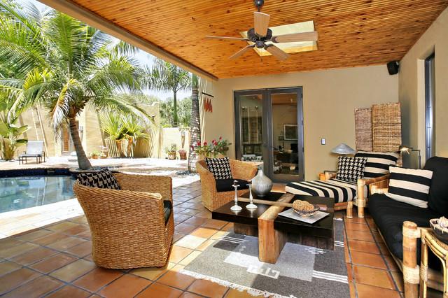 Siesta Key Santa Fe traditional-patio