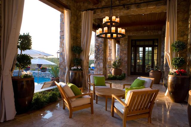 Silverleaf Ranch Hacienda Loggia Pool Mediterranean Patio Phoenix B