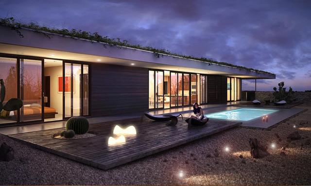 Simple Modern Design by Braxton Werner & Paul Field modern-patio