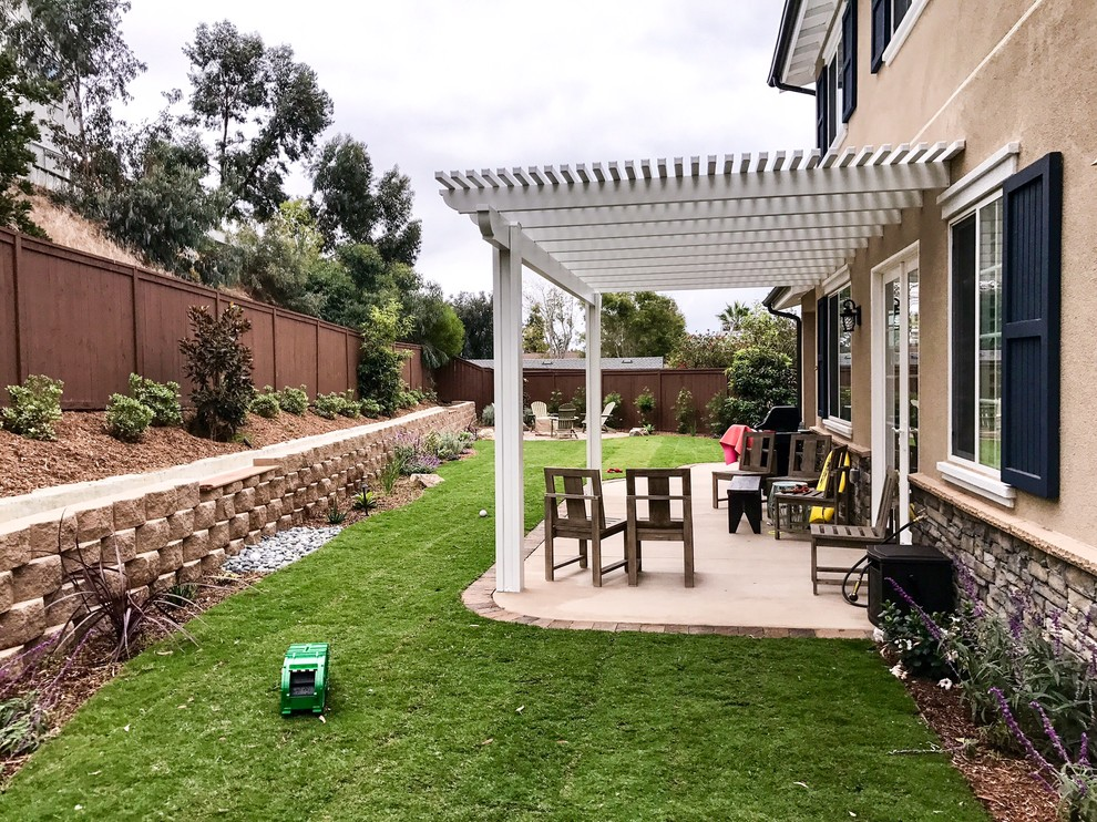 Simple Yet Elegant Backyard Modern Patio San Diego By Landscape Logic