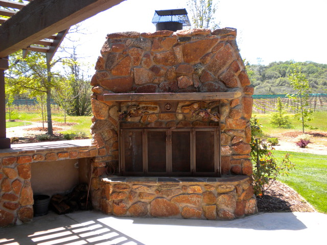 Skinner Winery El Dorado County California Rustic Patio