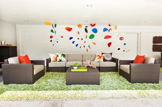 Sleek And Modern Patio Modern Patio Dallas By Abbe