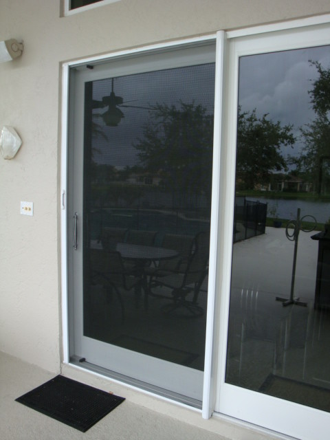 sliding glass door screens transitional patio miami by