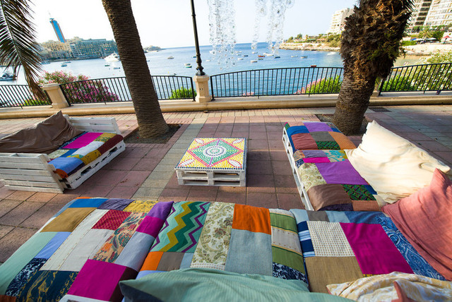 Sliema Street Art Festival beach-style-patio