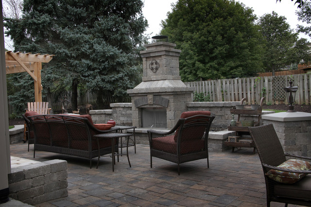 Small Backyard, Great Patio Space traditional-patio