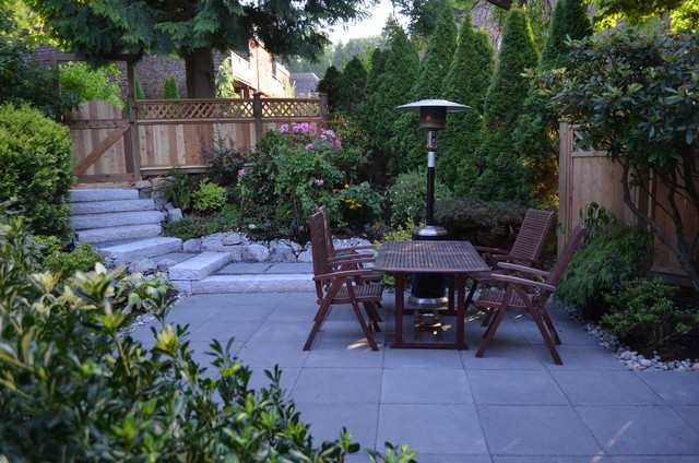Small Backyard Townhouse Patio Vancouver By Contour