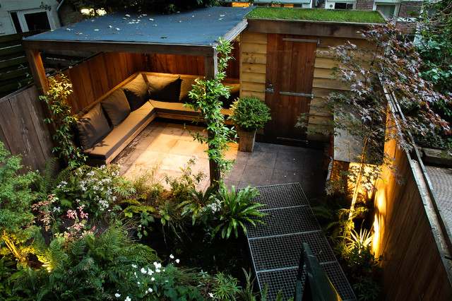 Small city garden - Contemporary - Patio - Amsterdam - by ... on Small City Patio Ideas id=73933