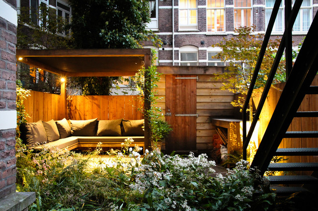 small city garden contemporary patio amsterdam by