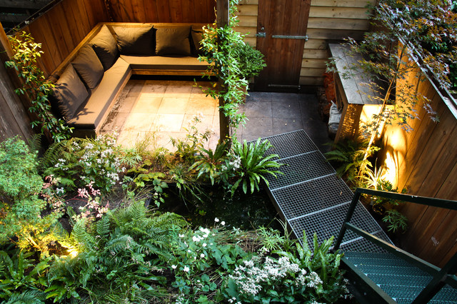 Small city garden - Contemporary - Patio - Amsterdam - by ... on Small City Patio Ideas id=56518
