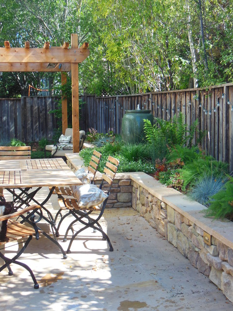 Small Space, Big Impact Traditional Patio