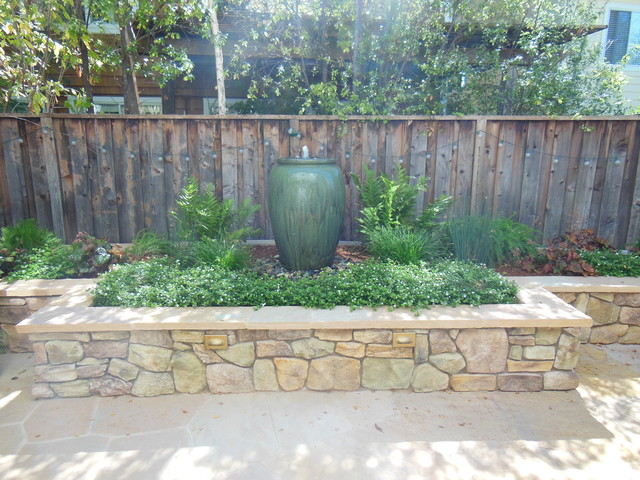 Small space Big Impact Traditional Landscape san