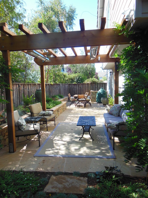 Amazing Small Space, Big Impact Traditional Patio