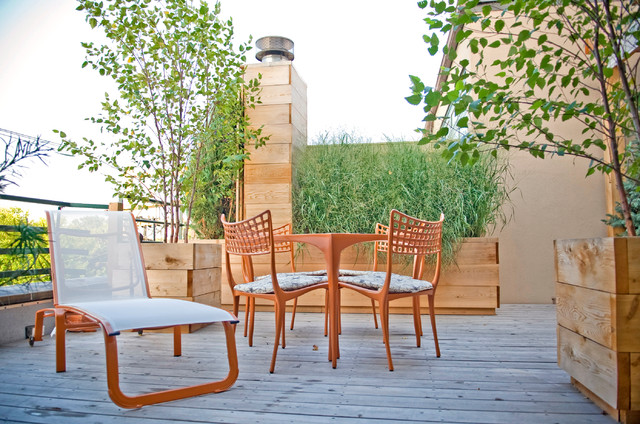 Small Space Reimagined contemporary-patio