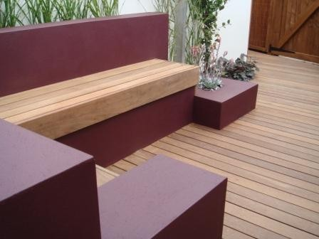 Small Town Garden St Albans contemporary patio