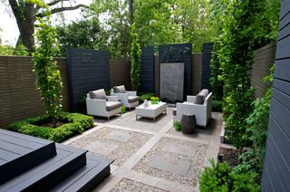 modern classic - transitional - patio - toronto - by sander design ... - Patio Landscape Architecture